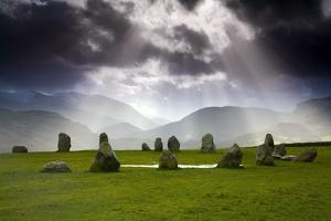 Castlerigg Stone Circle; Kendal, Cumbria, England by Design Pics Inc