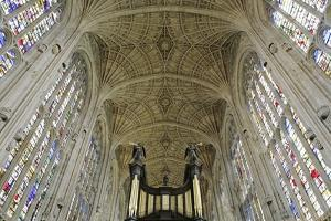Ceiling of King's College Chapel by Design Pics Inc