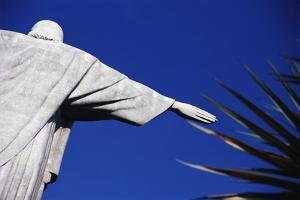 Christ the Redeemer and Palm Leaves by Design Pics Inc