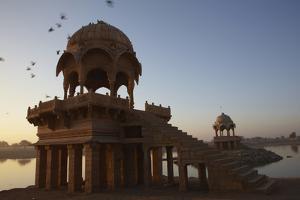 Dawn at Gadisar Lake Jaisalmer Rajasthan India Andy Kerry by Design Pics Inc