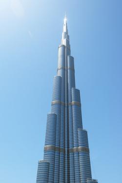 Detail of the Burj Khalifa; Dubai, United Arab Emirates by Design Pics Inc