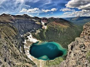 High Angle View of Lake, Akamina Ridge; British Columbia, Canada by Design Pics Inc