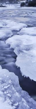 Ice on Chickaloon River Winter Southcentral Ak by Design Pics Inc