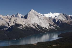Jasper National Park, Alberta, Canada; Maligne Lake and Mountains by Design Pics Inc