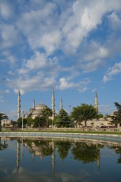 Looking across Pond to Sultanahmet or Blue Mosque by Design Pics Inc