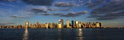 Lower Manhattan at Sunset, Viewed from Jersey City