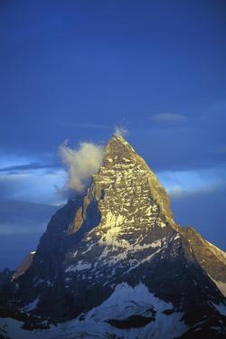 Matterhorn Mountain at Sunrise, Close Up by Design Pics Inc