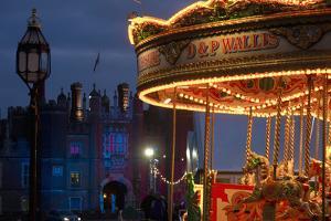 Merry Go Round, Hampton Court, London, Uk by Design Pics Inc