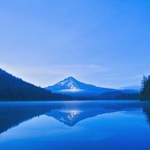Oregon, United States of America; Mt. Hood Reflected into Trillium Lake by Design Pics Inc