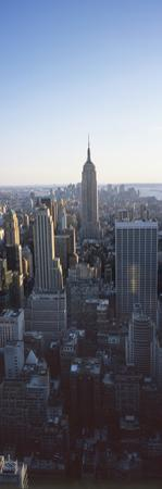 Panoramic View of Empire State Building by Design Pics Inc