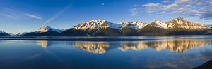 Panoramic View of Turnagain Arm and Kenai Mountains Near Girdwood by Design Pics Inc