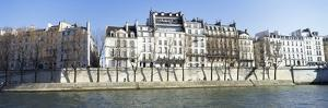 River Seine and French Townhouses by Design Pics Inc