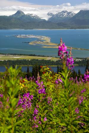 Scenic View Overlooking the Homer Spit