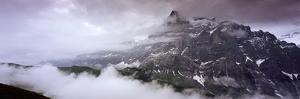 Summit of Eiger Mountain Near Grindelwand in Bernese Alps by Design Pics Inc