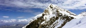 Summit of Monch Mountain in Bernese Alps by Design Pics Inc
