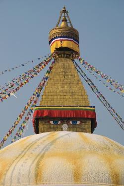 The Buddhist Stupa; Bodhnath, Kathmandu, Nepal by Design Pics Inc