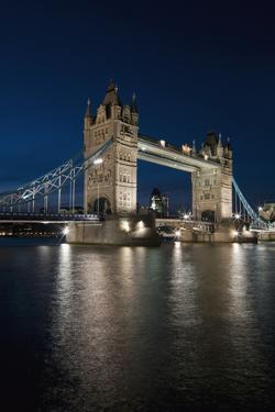 Tower Bridge Dusk, London, Uk Charles Bowman by Design Pics Inc