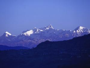 View of the Himalayas by Design Pics Inc