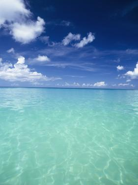 Waters Off the West Coast of Barbados,Beach Water Ocean Horizon by Design Pics Inc