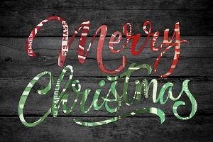 Merry Christmas License Plates by Design Turnpike