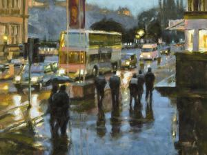 Edinburgh at Dusk by Desmond O'hagan