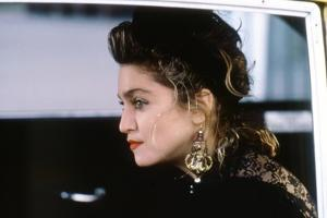 DESPERATELY SEEKING SUSAN, 1985 directed by SUSAN SEIDELMAN Madonna (photo)