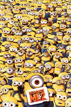 Despicable Me 2 Many Minions