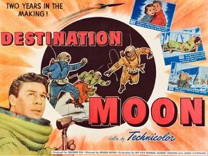 Destination Moon, John Archer, 1950