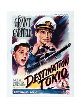 Destination Tokyo - Movie Poster Reproduction