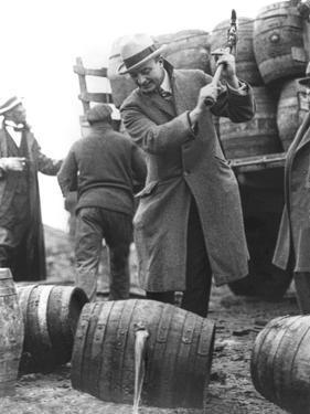 Destroying Barrels Of Beer