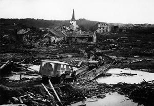 Destruction in Germany (Lunebach, 1945) Poster