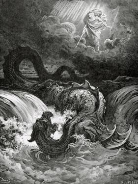 Destruction of Leviathan, 1865