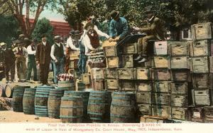 Destruction of Liquor in Kansas, Prohibition, 1907