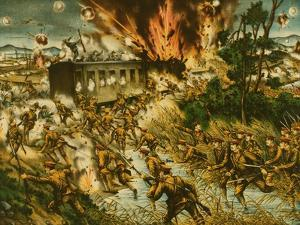 Destruction of the Red Army Railroad