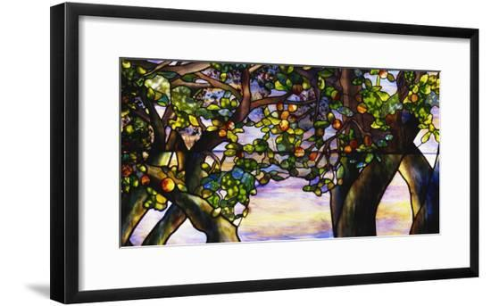 Detail from 'The Danner Memorial' Window by Tiffany Studios--Framed Giclee Print
