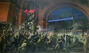 Detail from the Storming of the Winter Palace, 7th November 1917
