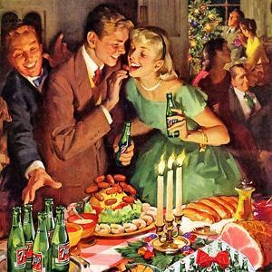 Detail of a Magazine Advert for 7Up, 1940s