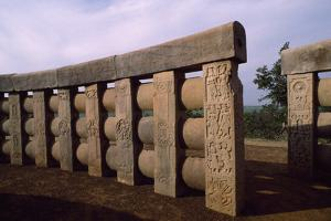Detail of the Compound Stupa II in Sanchi