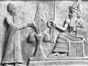 Detail of the Stele of Ur-Nammu