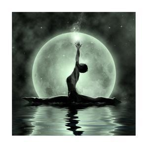 Moonlight Yoga Meditation by Detelina