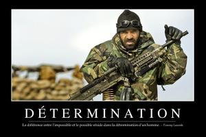 Détermination: Citation Et Affiche D'Inspiration Et Motivation