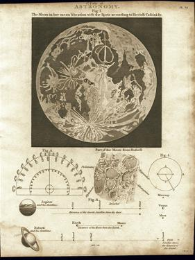 Early Map of the Moon, 1810 by Detlev Van Ravenswaay