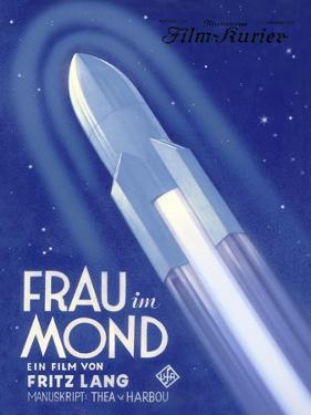 Frau Im Mond Advert, 1929 by Detlev Van Ravenswaay