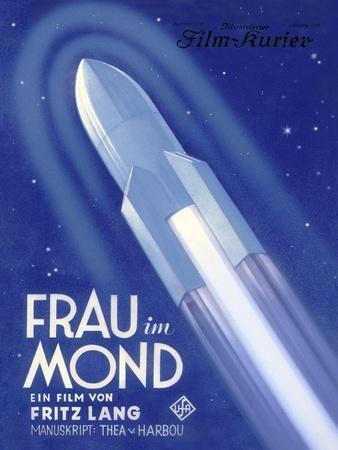 Frau Im Mond Advert, 1929