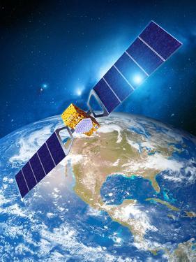 Galileo Navigation Satellite by Detlev Van Ravenswaay