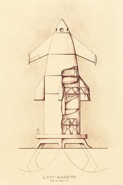 German Space Shuttle Study, 1951 by Detlev Van Ravenswaay