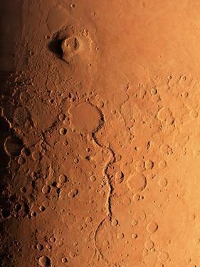 Gusev Crater And River, Mars by Detlev Van Ravenswaay