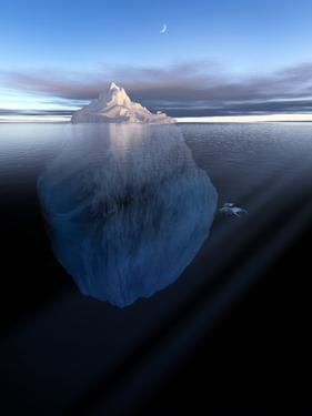 Iceberg, Artwork by Detlev Van Ravenswaay