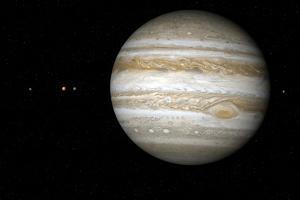 Jupiter, Artwork by Detlev Van Ravenswaay