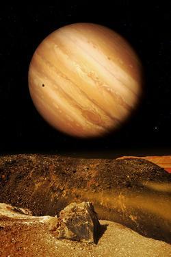 Jupiter From Io by Detlev Van Ravenswaay